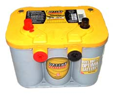 Аккумулятор для легкового автомобиля Optima YellowTop YT U 4.2 - фото 10